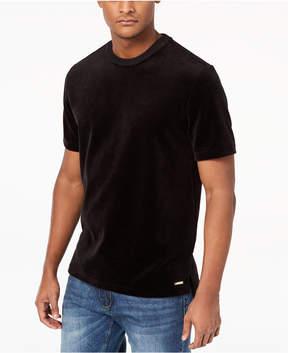 Sean John Men's Velour T-Shirt, Created for Macy's
