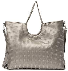 Steve Madden Pin Stud Faux Leather Tote Bag