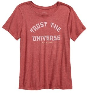 Spiritual Gangster Girl's Trust The Universe Graphic Tee