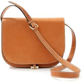 Bernice Leather Saddle Bag