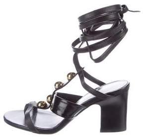Tamara Mellon Stud Embellished Sandals