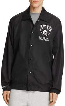 Mitchell & Ness Brooklyn Nets NBA Coach Jacket - 100% Exclusive