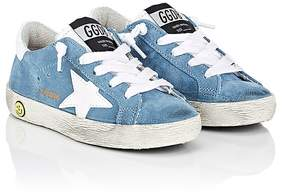Golden Goose Deluxe Brand Kids' Superstar Suede Sneakers