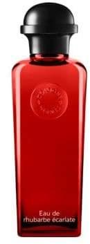 Hermes Eau de Rhubarbe Ecarlate Eau de Cologne Bottle with Pump/6.7 oz.