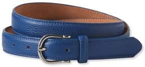 L.L. Bean L.L.Bean Women's Pebbled Leather Belt