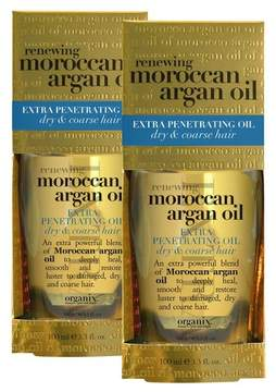 OGX Extra Strength Moroccan Argan Oil Penetrating Hair Oil - 3.3oz.