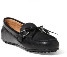 Ralph Lauren Briley Leather Loafer Black 10