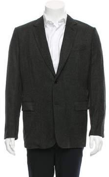 Christian Dior Two- Button Virgin Wool Blazer