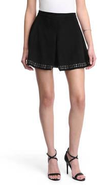 Dolce Vita Black Studded Mini Skirt