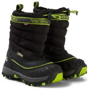 Viking Windchill Gtx Black/Lime