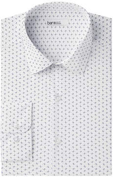 Bar III Men's Slim-Fit Stretch Easy-Care Boteh Print Dress Shirt, Created for Macy's