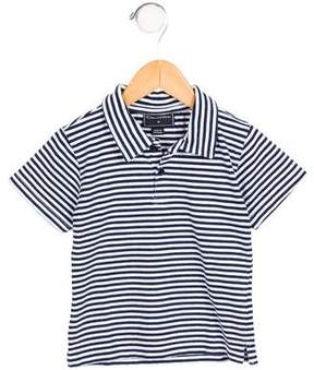 Oscar de la Renta Boys' Striped Polo Shirt