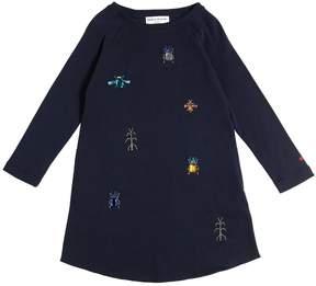 Sonia Rykiel Jeweled Bugs Cotton Interlock Dress