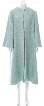 Emilia Wickstead Tweed Long Coat