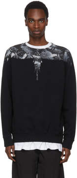 Marcelo Burlon County of Milan Black Camouflage Wing Sweatshirt