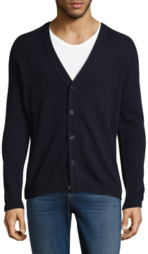 Autumn Cashmere Men's Ribbed Cashmere Cardigan