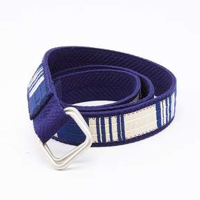 Blade + Blue Blue & White Stripe Belt by One Magnificent Beast