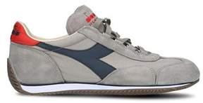 Diadora Heritage Men's Grey Cotton Sneakers.