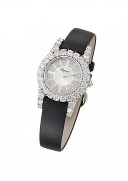 Chopard Heure du Diamant Diamond Pave Guilloche Dial Ladies Watch