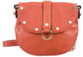 Rebecca Minkoff Studded Saddle Bag - BROWN - STYLE