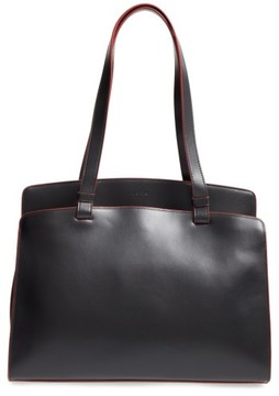 Lodis Audrey Collection - Jana Leather Tote - Black