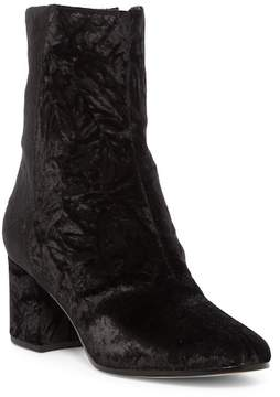 Via Spiga Fletcher Velvet Block Heel Boot
