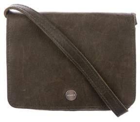 Shinola Distressed Leather Crossbody Bag