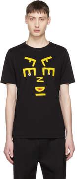 Fendi Black New Faces T-Shirt