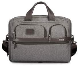 Tumi Zip-Around Canvas Briefcase