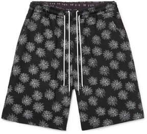 SASQUATCHfabrix. Printed Lyocell-Blend Drawstring Shorts