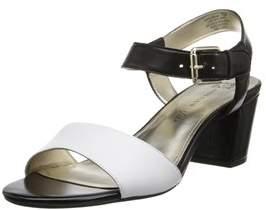 AK Anne Klein Women's Petrona Leather Dress Sandal.