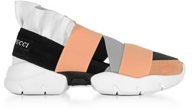 Emilio Pucci Women's Multicolor Polyester Slip On Sneakers.