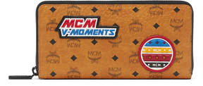 MCM Zip Around Wallet In Victory Patch Visetos