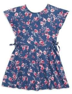 Splendid Toddler's& Little Girl's Floral-Print Cotton Dress