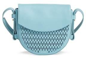 Skagen Lobelle Leather Saddle Bag - Blue