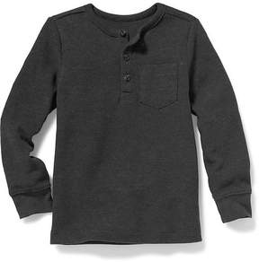Old Navy Thermal-Knit Henley for Toddler Boys