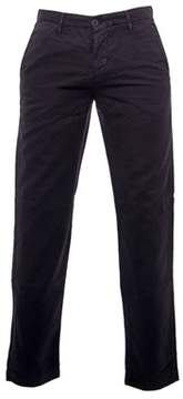 Jeckerson Men's Black Cotton Pants.