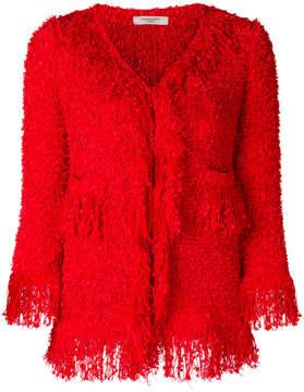 Charlott frayed edge jacket