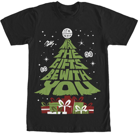 Fifth Sun Black 'May the Gifts Be With You' Tee - Men & Big