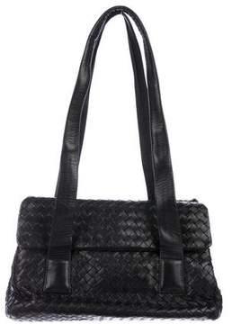 Bottega Veneta Vintage Intrecciato Flap Shoulder Bag