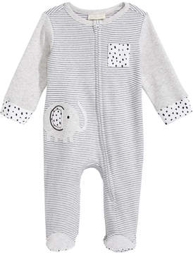 First Impressions Elephant Footed Coverall, Baby Boys, Created for Macy's