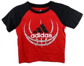 adidas Kids 4-7x Fast Ball Performance Tee - Red - Boys - 7