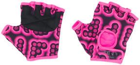 Fendi printed fingerless gloves