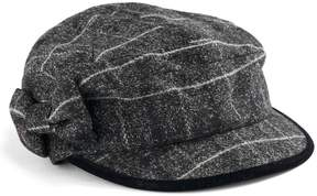 Betmar Women's Mulhouse Plaid Bow Cadet Hat