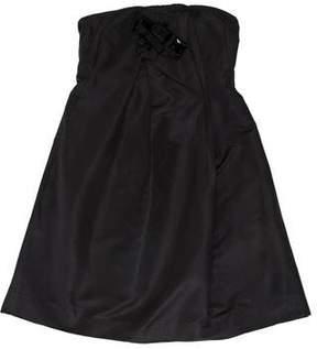 Christian Lacroix Sleeveless Silk Dress