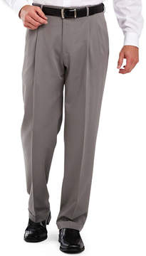 Haggar Classic-Fit Pleated Dress Pants