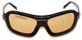 Giorgio Armani Tinted Shield Sunglasses