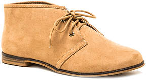 Qupid Tan Strip Chukka Boot - Women