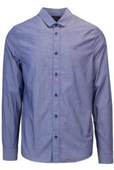 Calvin Klein Jeans Men's Light Blue Cotton Shirt.