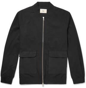 Folk Cotton-Twill Bomber Jacket